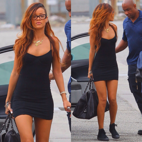 Rihanna Wearing Converse