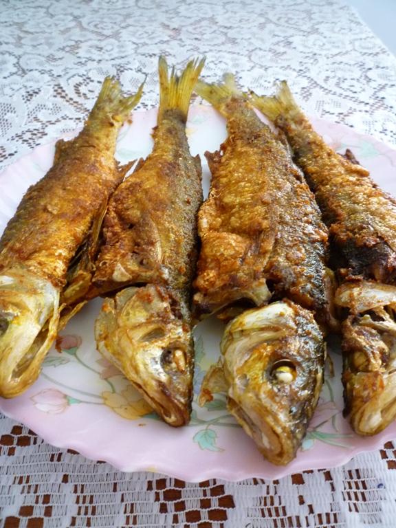 Yin 39 s homemade turmeric fried fish for Homemade fish fry