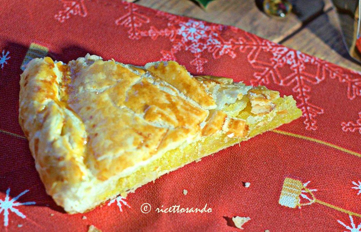Galette des Rois o torta dei Re Magi ricetta dolce di crema frangipane