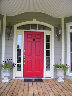 Red Door House landmark group: what does a red door really mean?