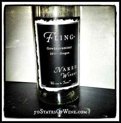 Naked Winery Fling Gewurtztraminer