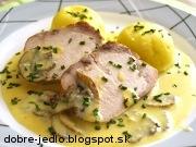 Bravčové karé so syrovou omáčkou a šampiňónmi - recept