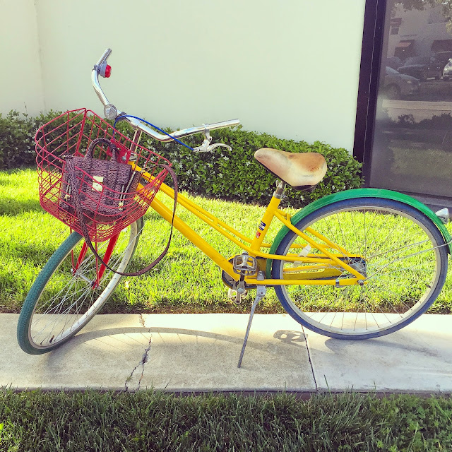 Google bike, silicon valley, travel, 31phillip lim, fashion blog