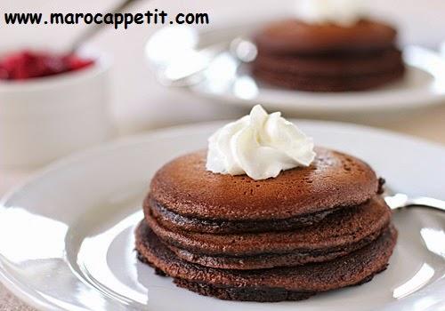 Pancake chocolat | Chocolate pancake