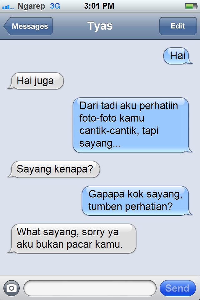 Afan Oppa Blog Troll Trik Gombal Kocak
