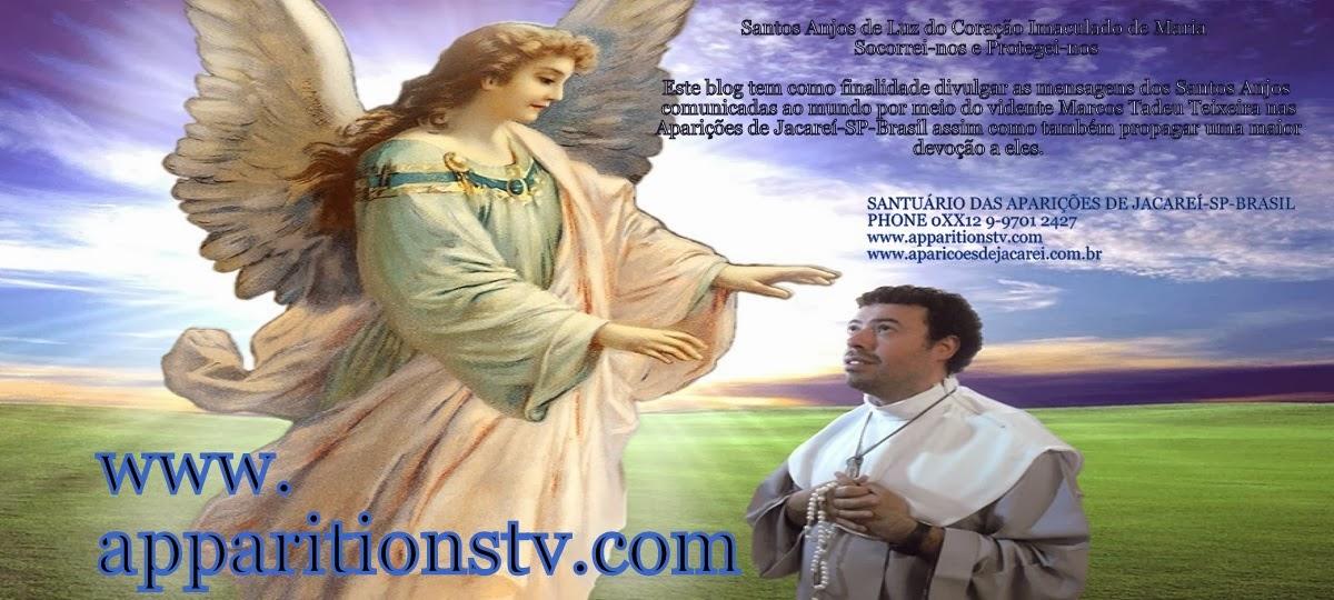 Santos Anjos de Luz do Coração Imaculado de Maria Socorrei-nos e Protegei-nos