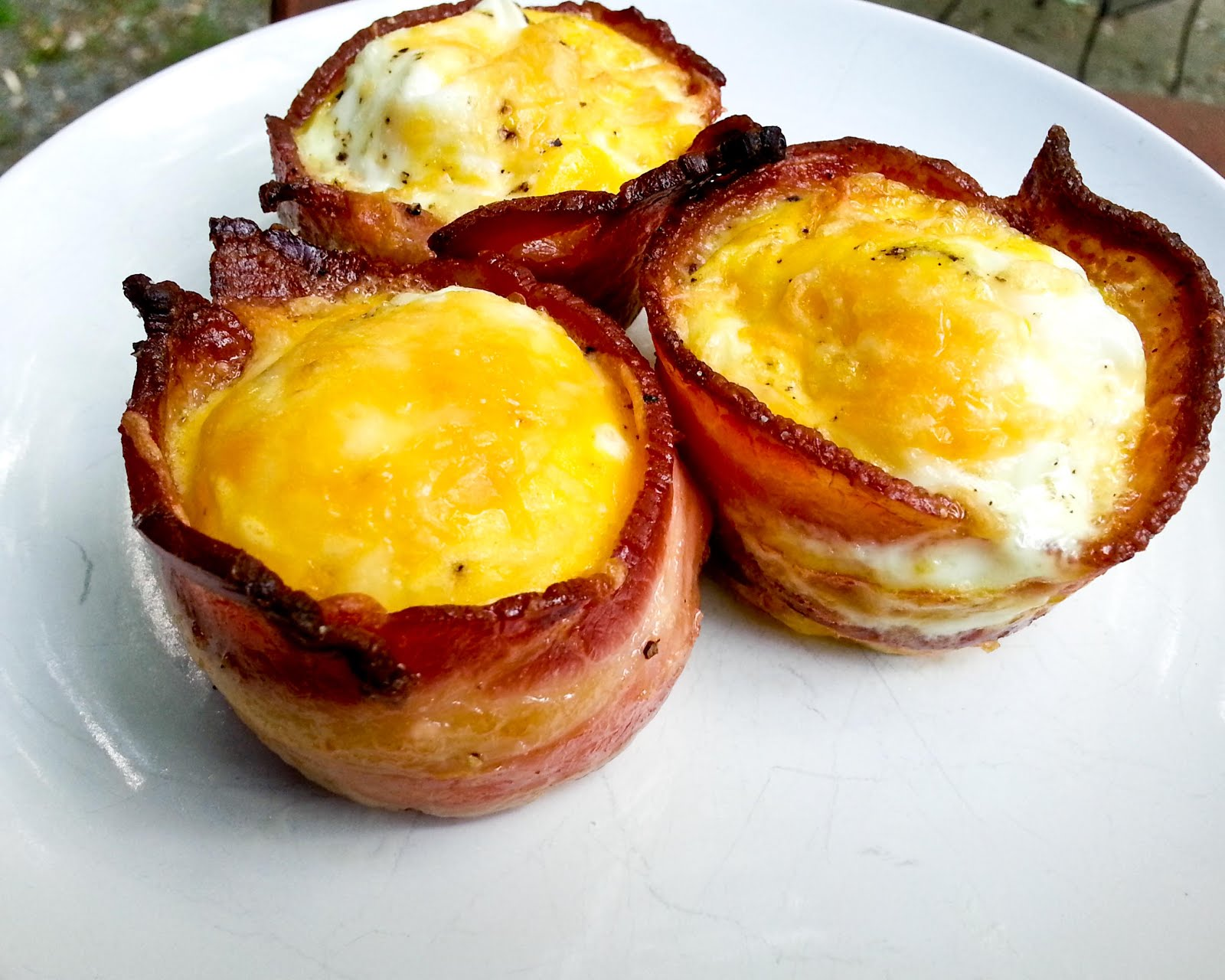 Bacon cups for Brekkie!