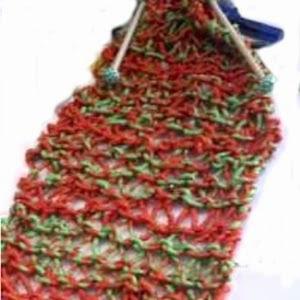 Gratis breipatroon zijden sjaal