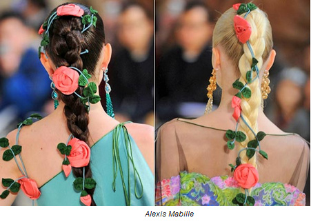 Hair Trends 2011: Plaits and Braids