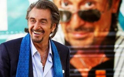 Al Pacino pede desculpas por cantar em filme sobre astro do rock