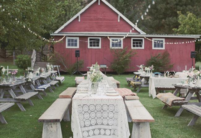 Confesiones de una boda una boda estilo picnic en el bosque - Lucio barcelona decoracion ...