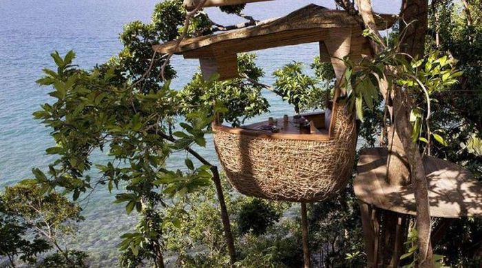 Soneva Kiri - The Treetop Rrestaurant