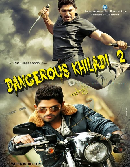 Dangerous Khiladi 2 2014 Hindi Dubbed 720P DVDRip 1GB