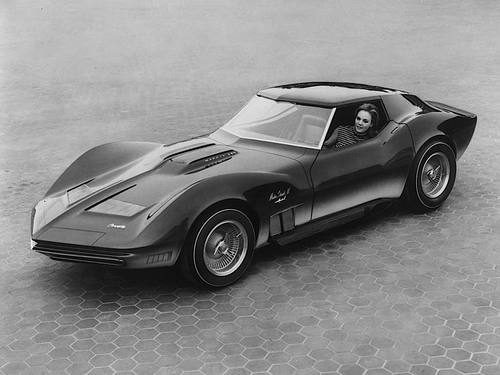 fab wheels digest f w d 1965 chevrolet mako shark ii corvette concept. Black Bedroom Furniture Sets. Home Design Ideas