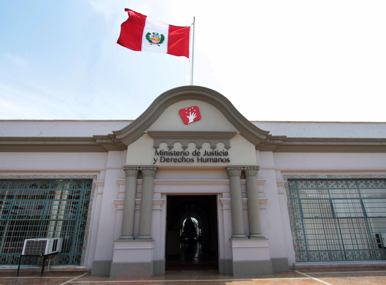 Rep blica y constituci n for Ministerio popular de interior y justicia