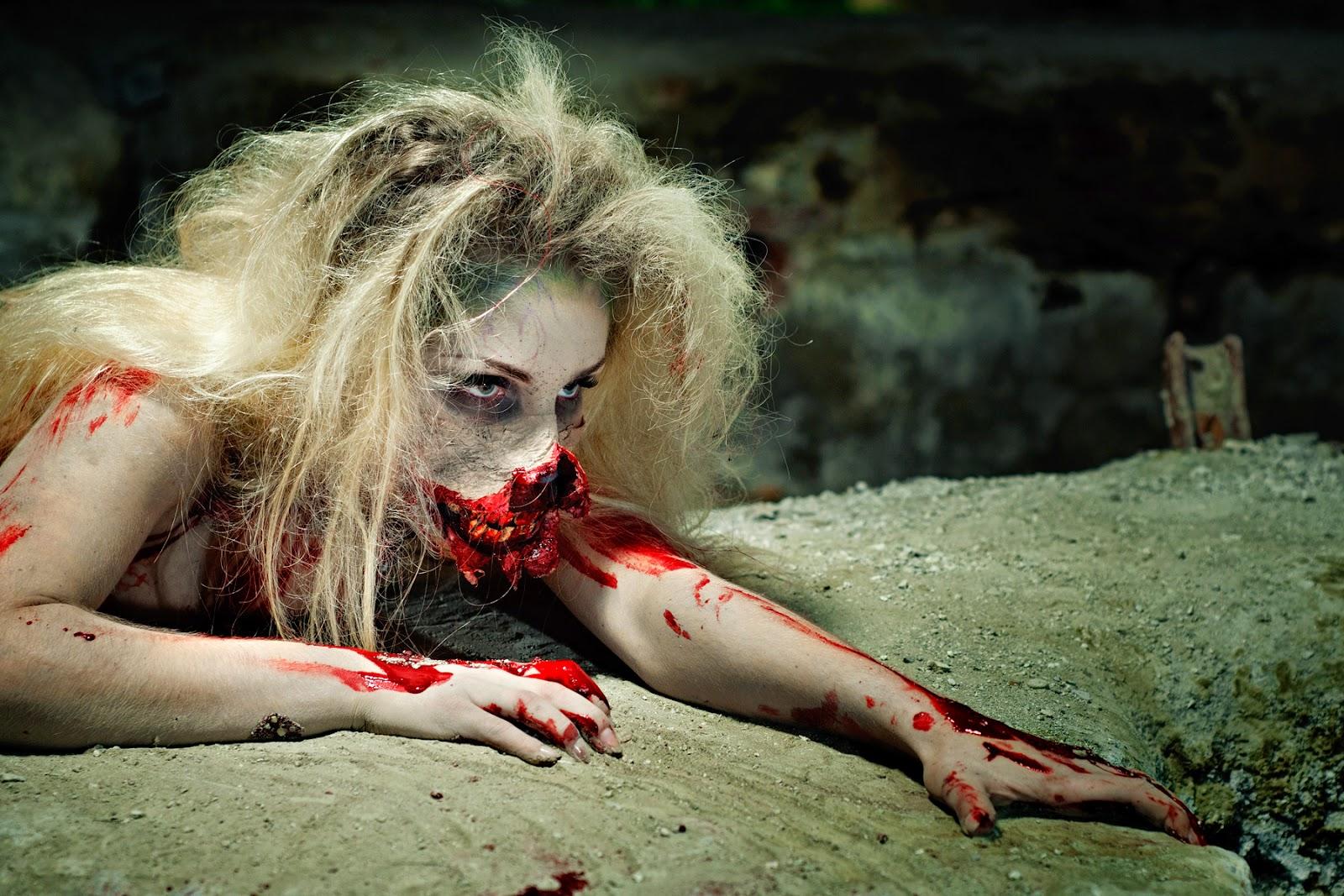 [116.] Sesja z charakteryzacją zombie.