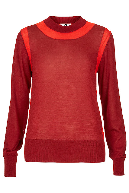 red jumper by Unique