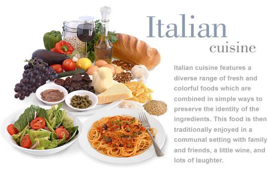Italian cuisine for Antonios italian cuisine