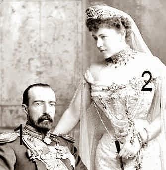 Grand-duc Michel Mihaïlovitch de Russie  et Sophie, comtesse de Torby - Romanov