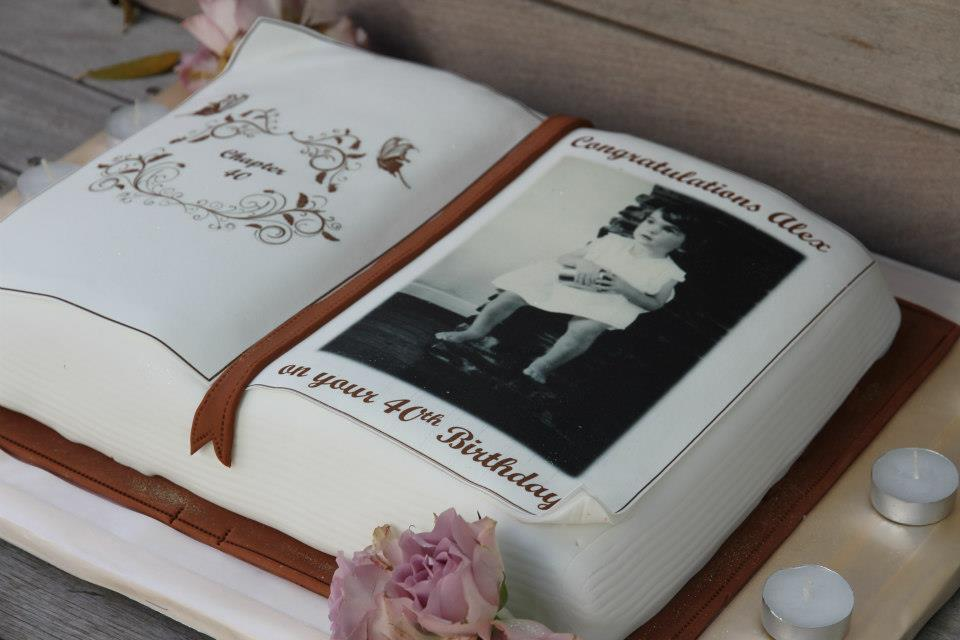 Cake Design For Matriculation : 40th birthday cake ideas