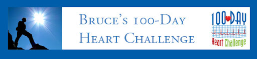 Bruce's 100-Day Heart Challenge