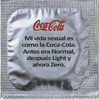 Coca Cola Zero vida sexual