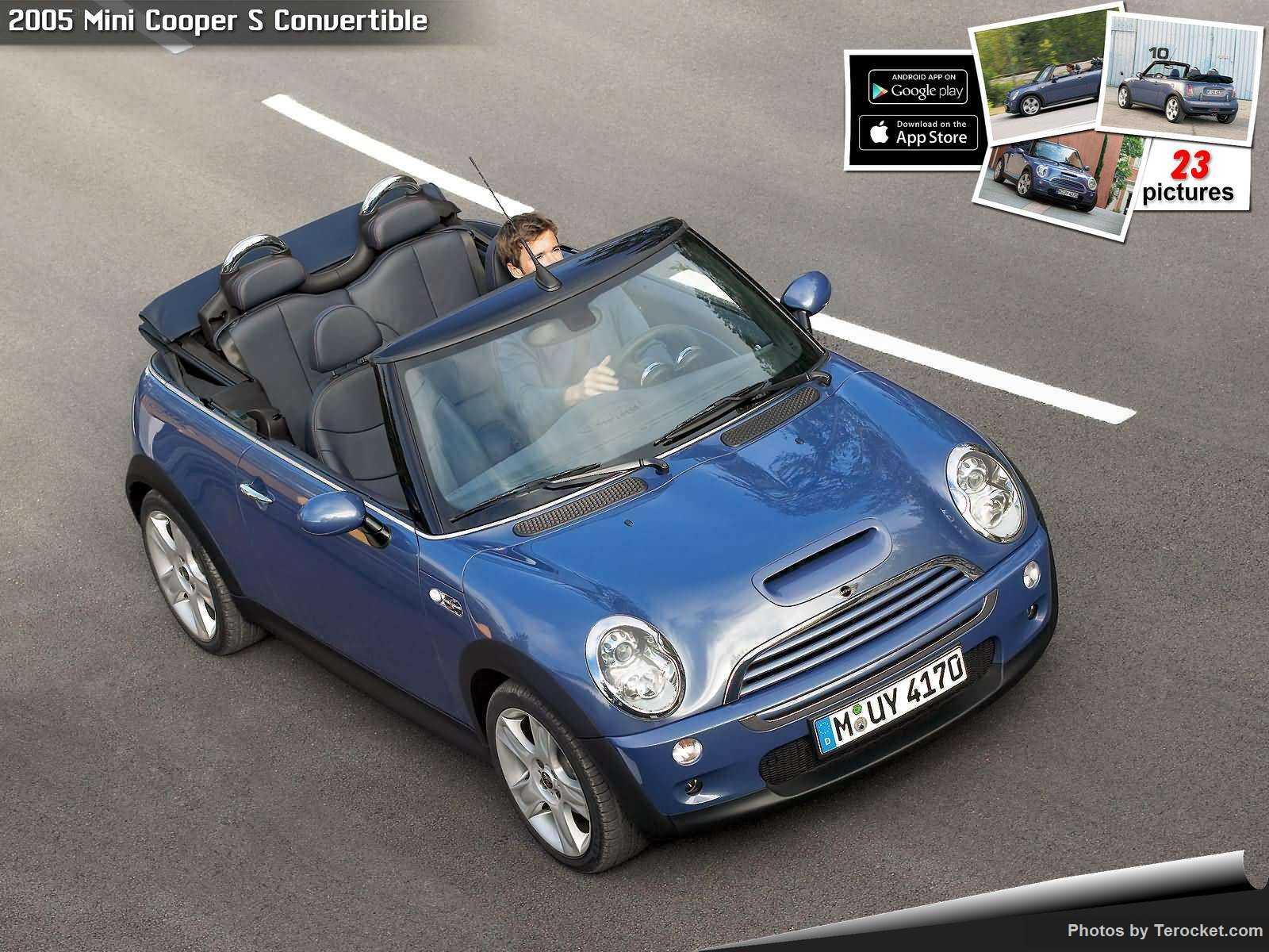 Hình ảnh xe ô tô Mini Cooper S Convertible 2005 & nội ngoại thất