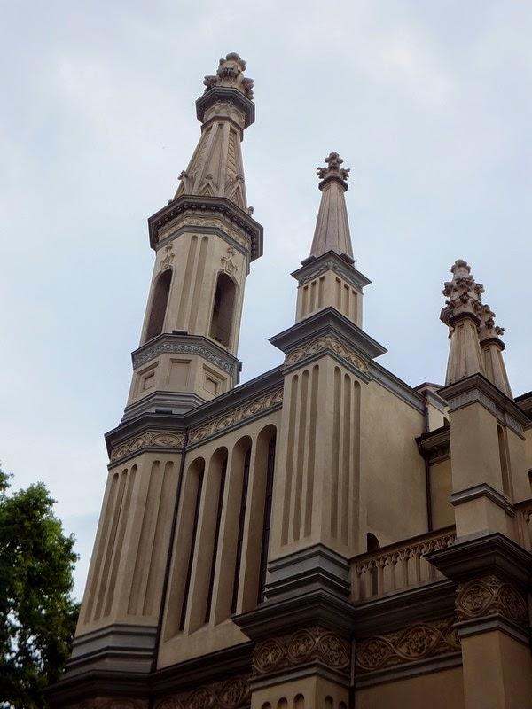 Turin Italie Pô temple vaudois
