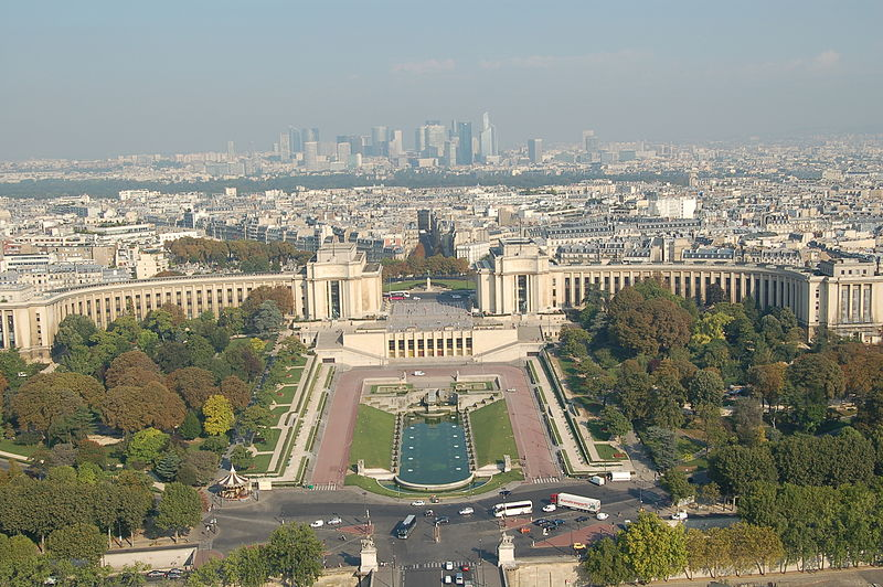 Hotel barato en par s cerca del palacio de chaillot for Hoteles en paris