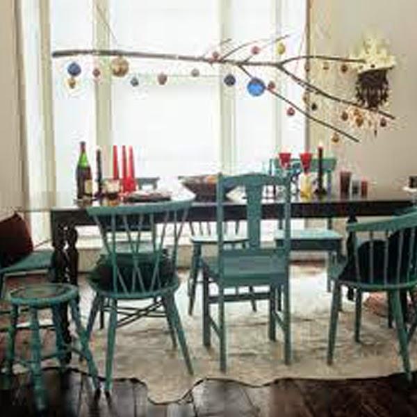 cadeiras coloridas, combinar cores, reciclagem