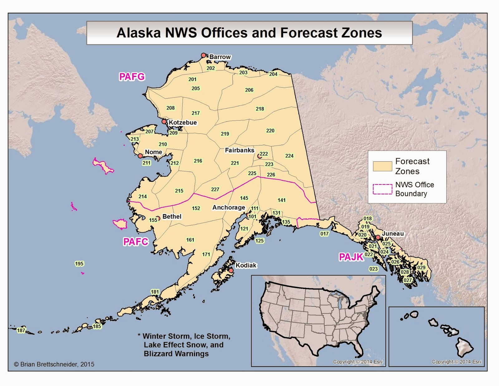 Deep Cold Interior And Northern Alaska Weather Amp Climate
