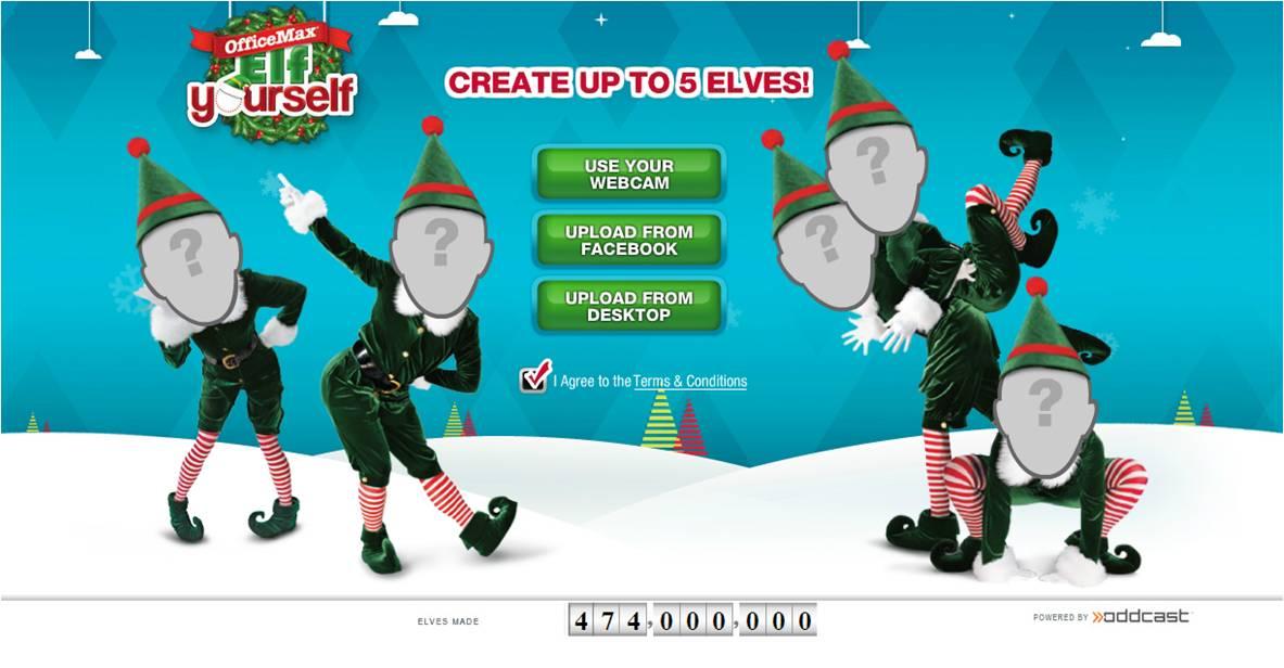 ElfYourself 2012 at elfyourself.com - OfficeMax Christmas tradition ...