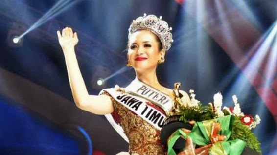 Foto Elvira Devinamira Wirayanti Pemenang Putri Indonesia 2014 (Profil-Biodata)