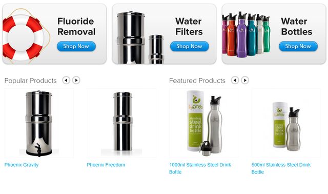 PhoenixWaterFilters.com.au - Water Filters
