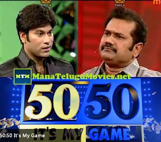 Omkar's 50-50 Game Show- 9th Jun with Chinni Krishna