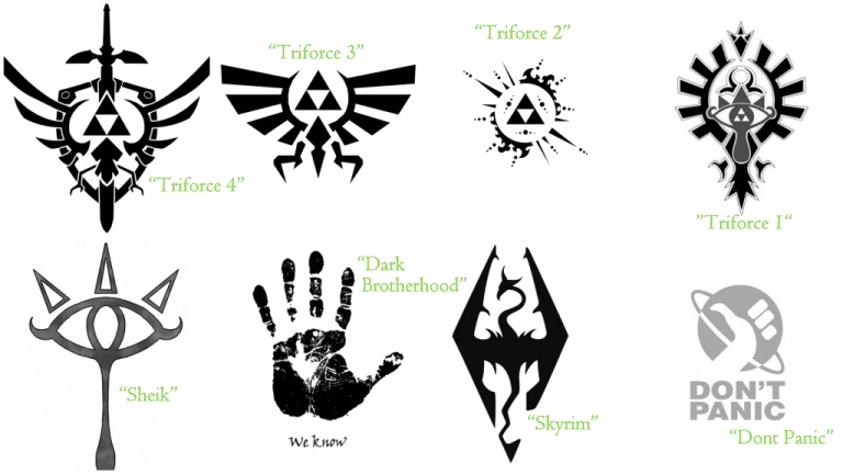My Sims 3 Blog New Tattoos By Simsamongthefence