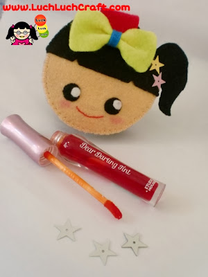 Review: Etude House Dear Darling Tint orange red