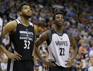 Karl-Anthony Towns & Andrew Wiggins