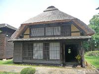 啄木はこの二階で生徒の指導にあたる一方、執筆活動を続けた。(借家を提供した斉藤家)