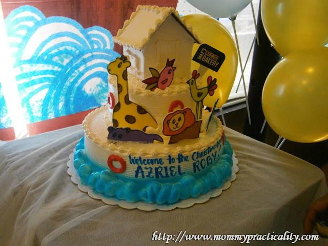 Max's Restaurant Noah's Ark Theme Cake