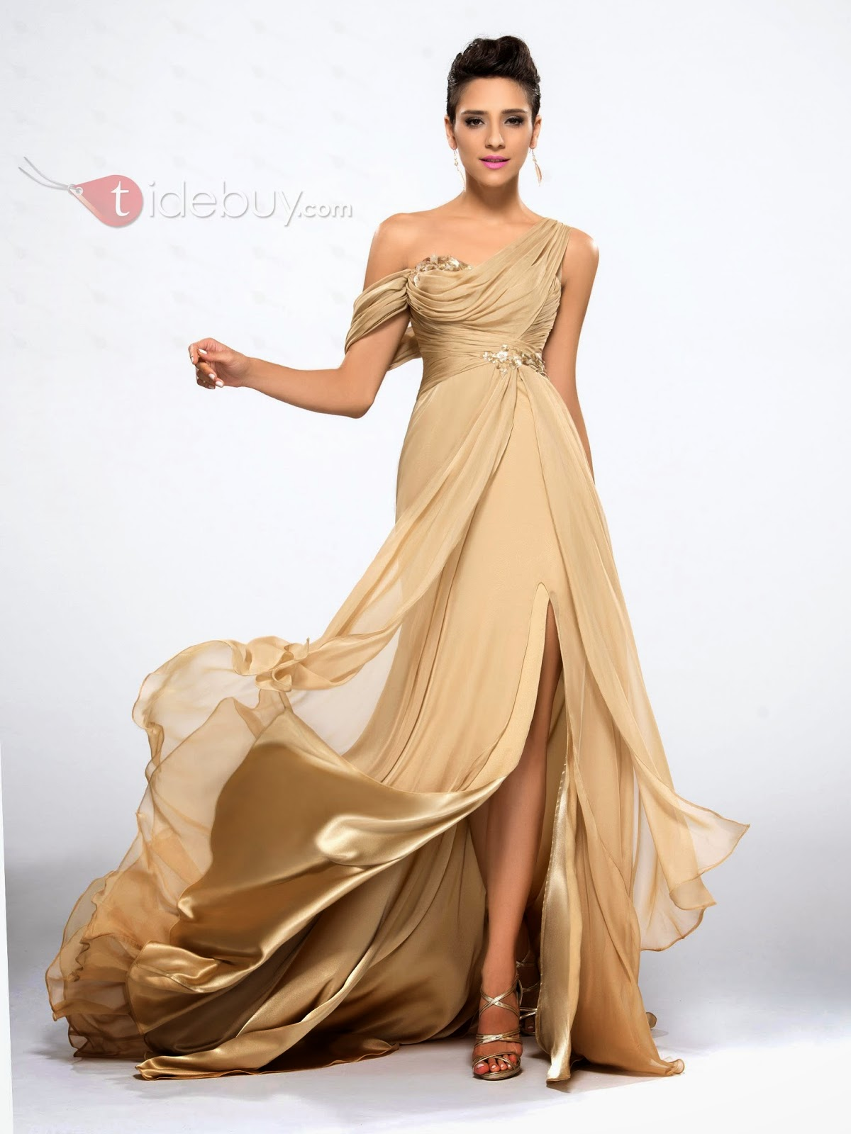 Celebrate in Designer Dresses