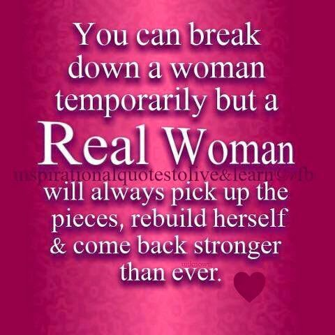 You are a good woman
