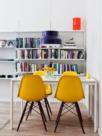 Silla Eames Plastic, Charles y Ray Eames