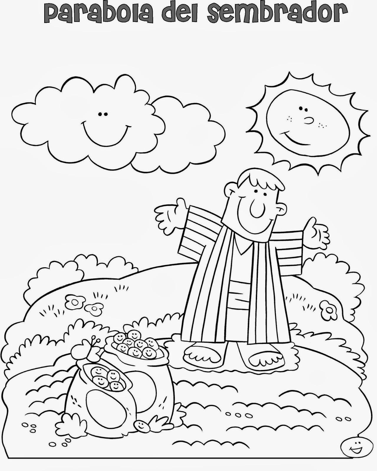 Dejad a los niños venir a Mi: Parábola del sembrador