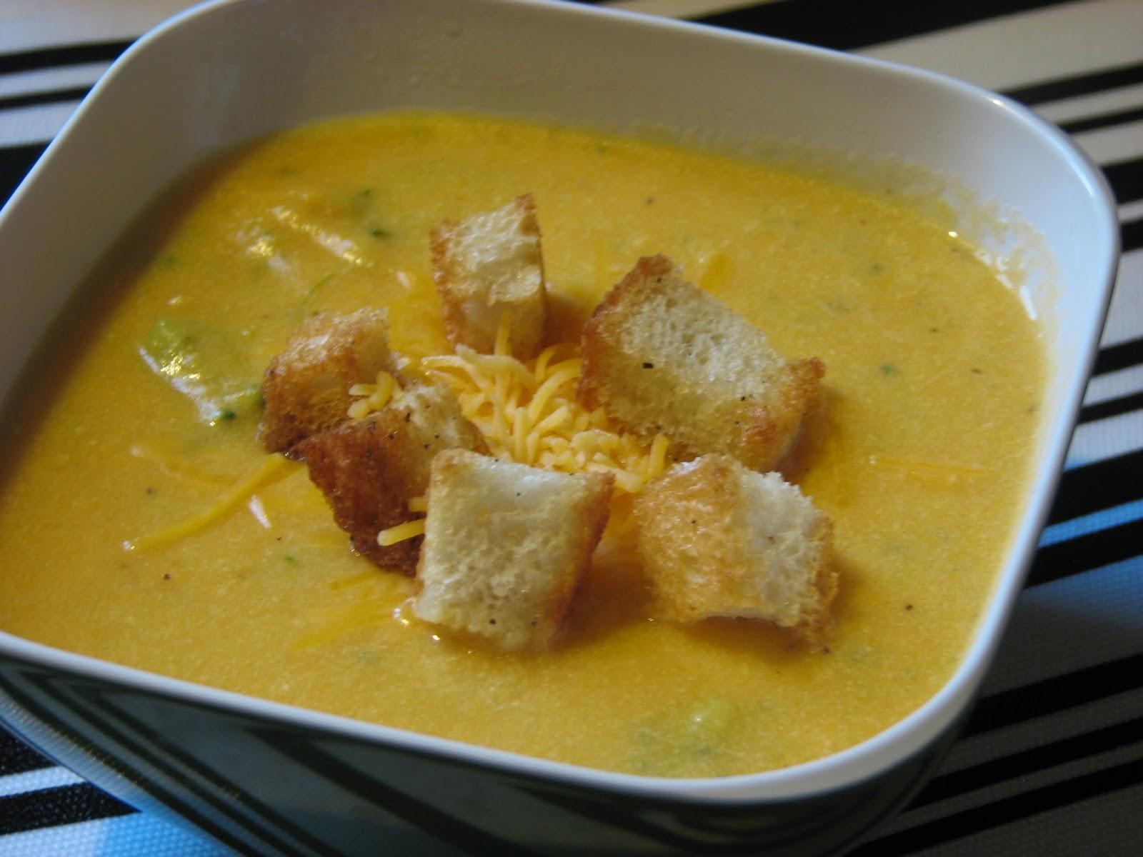 Broccoli Cheddar Potato Soup - Crumbs and Chaos