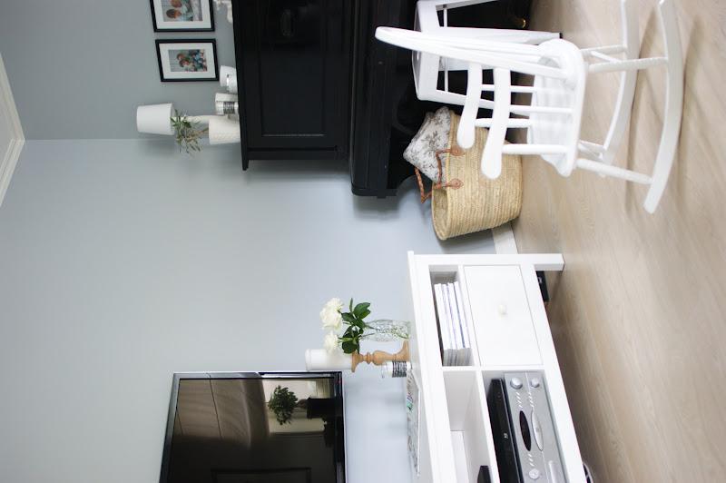 Et kjært hjem: et lite glimt av tv stuen