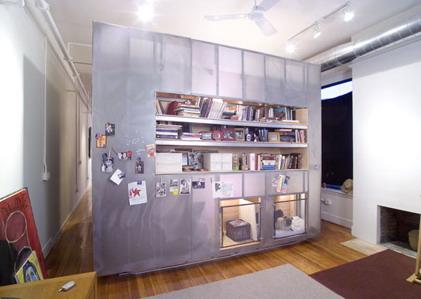 membuat ruang baca dan perpustakaan pribadi di rumah