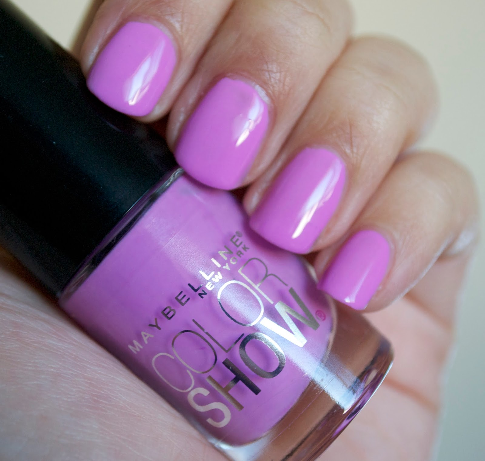 Aquaheart Maybelline Color Show Nail Lacquers 4 Shades