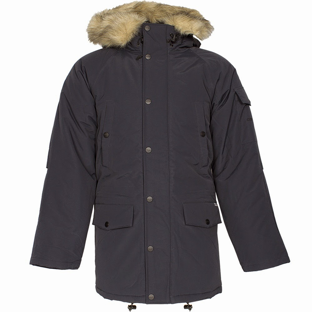 Carhartt  Anchorage Parka Jacket Navy