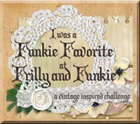 WINNER: Top Pick on The Frilly & Funkie Challenge Blog